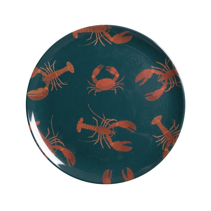 'Lobster' Melamine Side Plate