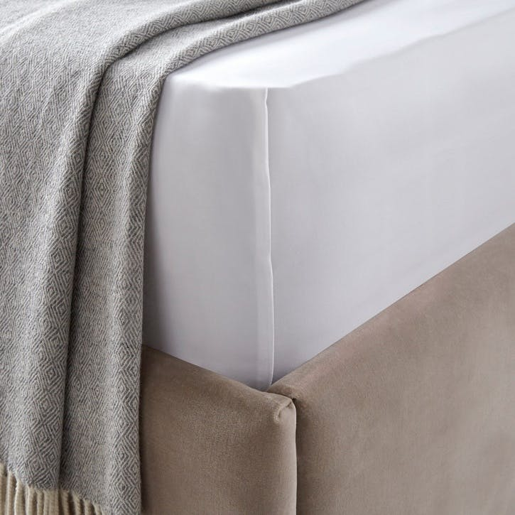 Cavendish Deep Fitted Sheet, Super King