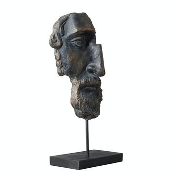Archytas Half Head Sculpture