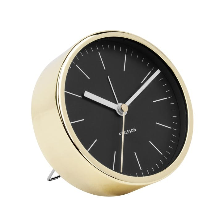 Minimal Alarm Clock, Black