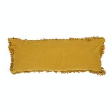 Bolster Cushion, Mustard