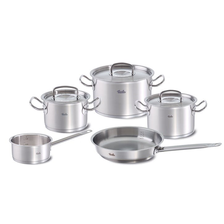 Original Pro Collection 5 Piece Set With Stainless Steel Lid