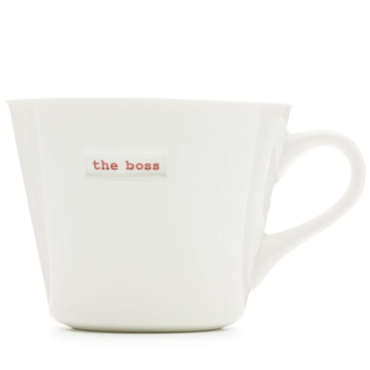 'The boss' Bucket Mug, 350ml