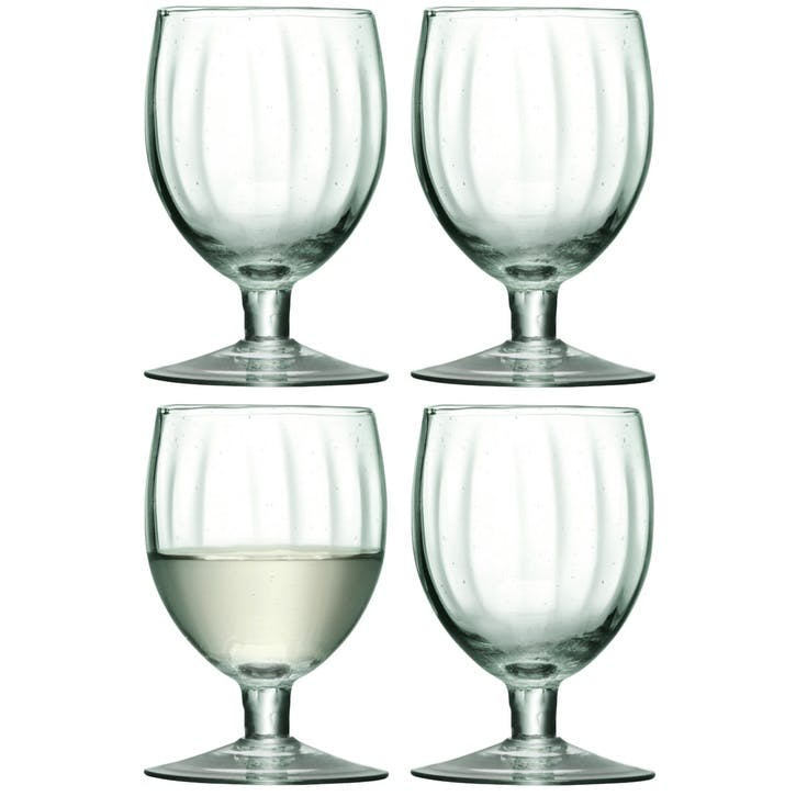 LSA Mia Recycled Wine Glass, Set of 4