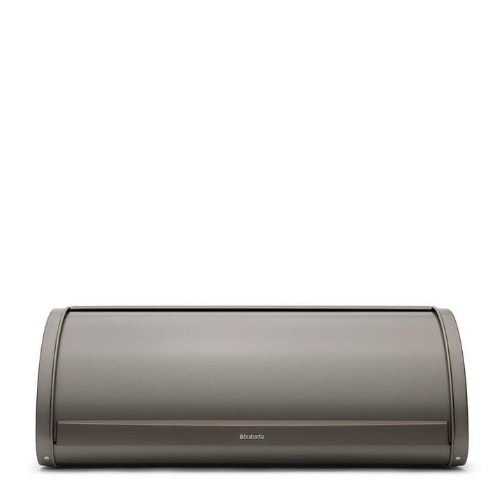 Roll Top Bread Bin, Platinum