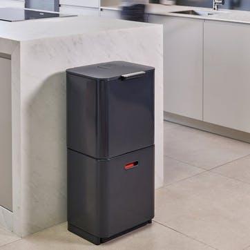 Totem Max 60 Recycling Bin, Graphite