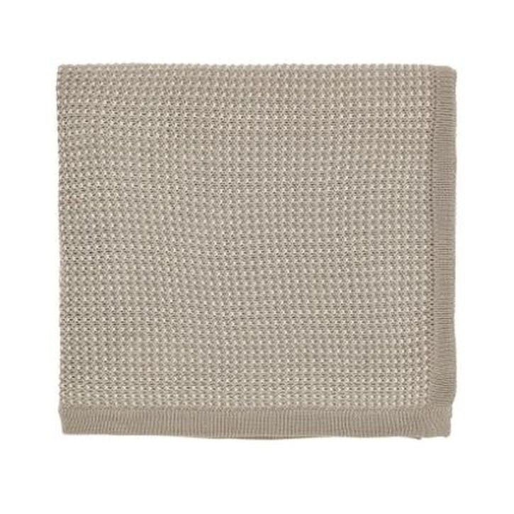 Nayara Knitted Throw, Cashmere