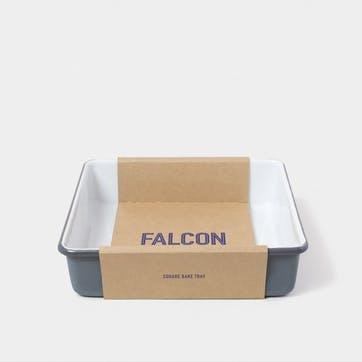 Square Bake Tray, Pigeon Grey