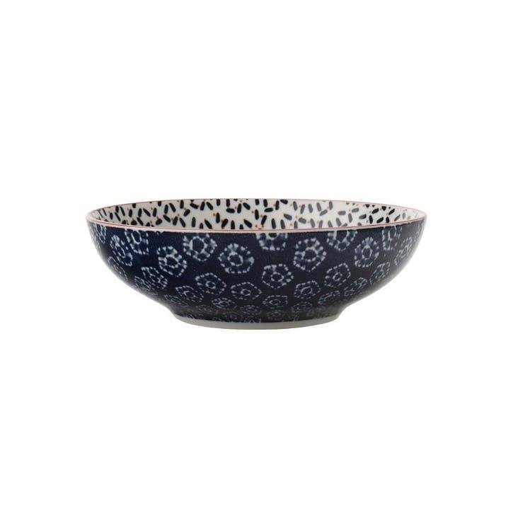 Boho Pasta Bowl, Blue