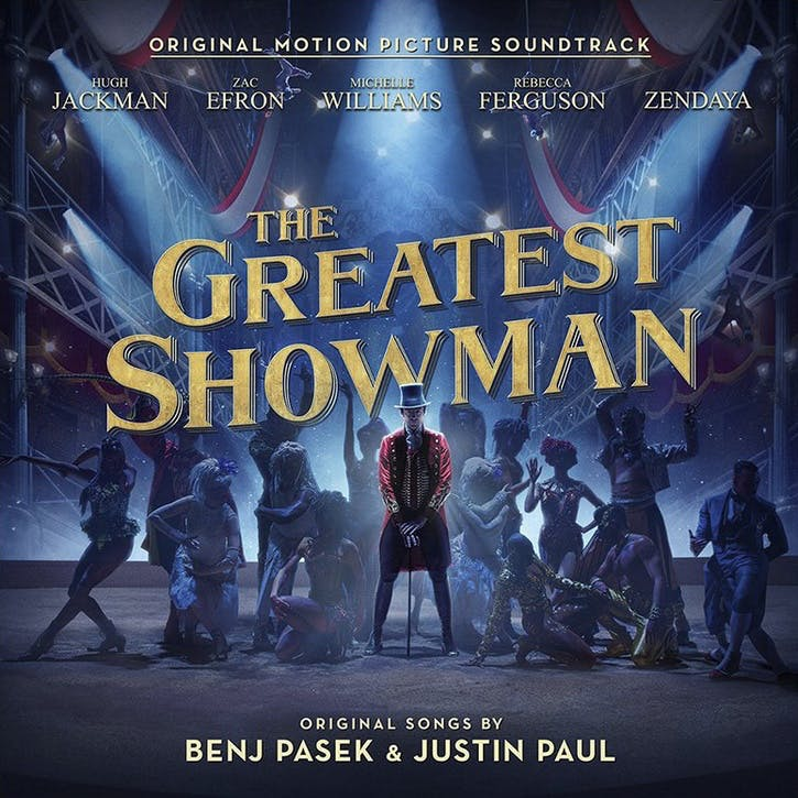 "The Greatest Showman Original Motion Picture Soundtrack 12"" Vinyl"