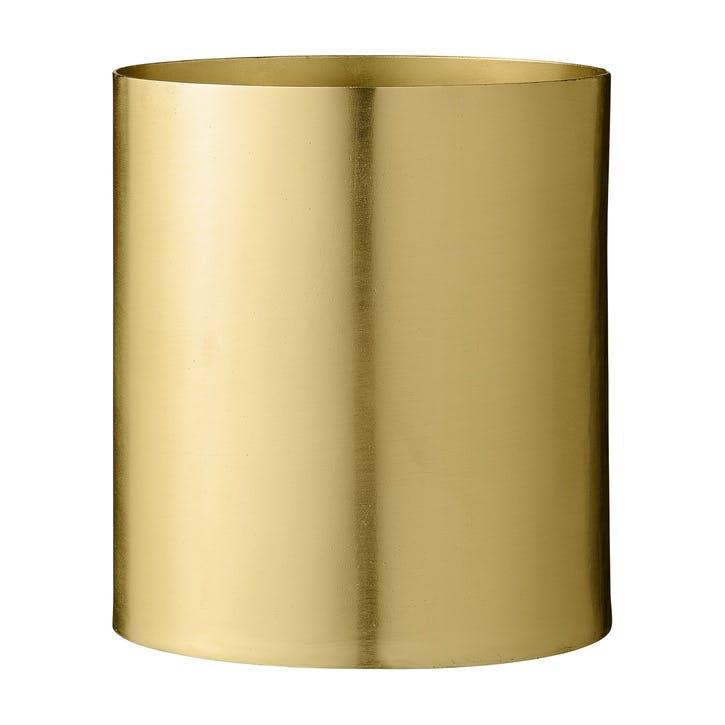 Brass Metal Flowerpot