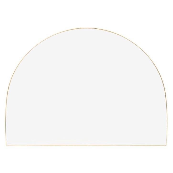 Fine Edge Over Mantle Mirror, 110cm, Gold