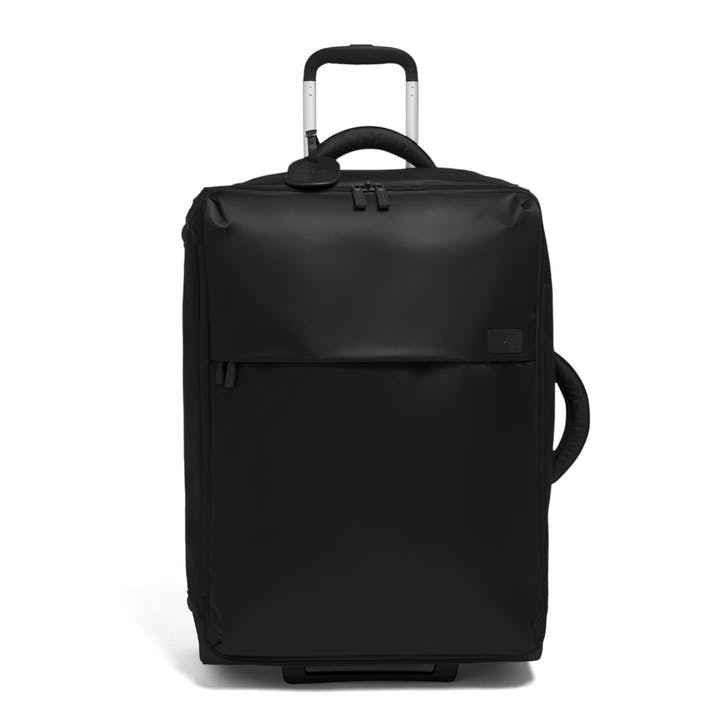 Pliable Upright Suitcase, 65cm, Black
