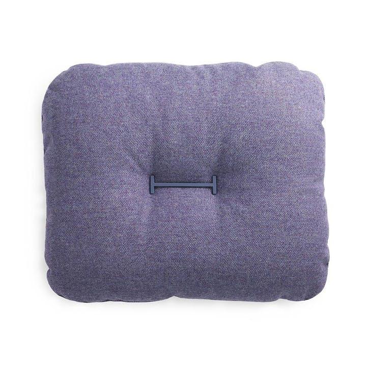 HI Pair of Cushions  L60 x H50cm Purple