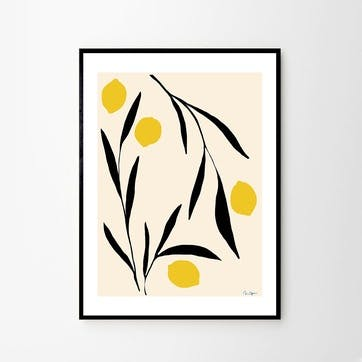 Lemon - Anna Morner Art Print D50cm x H70cm
