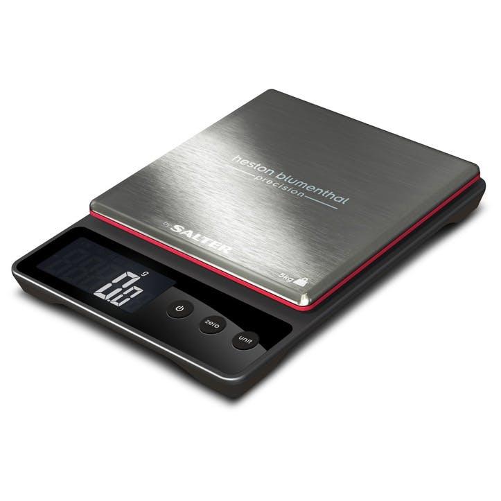Heston Blumenthal Precision Electronic Digital Kitchen Scales, Black