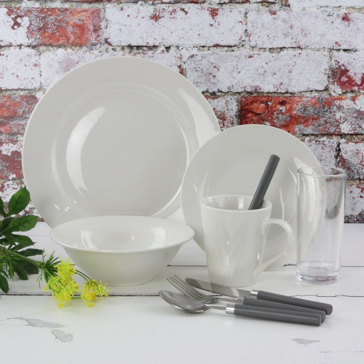 Classic Porcelain 36 Piece Dining Starter Set