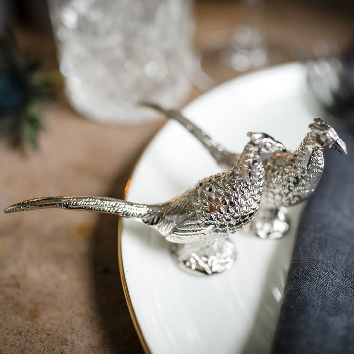 Pheasant Salt & Pepper Set