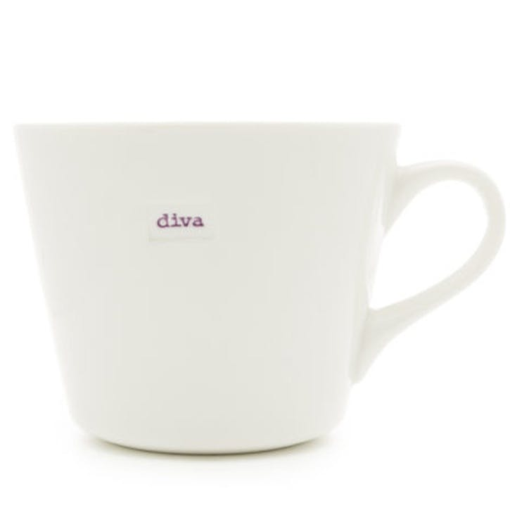 'Diva' Bucket Mug, 350ml