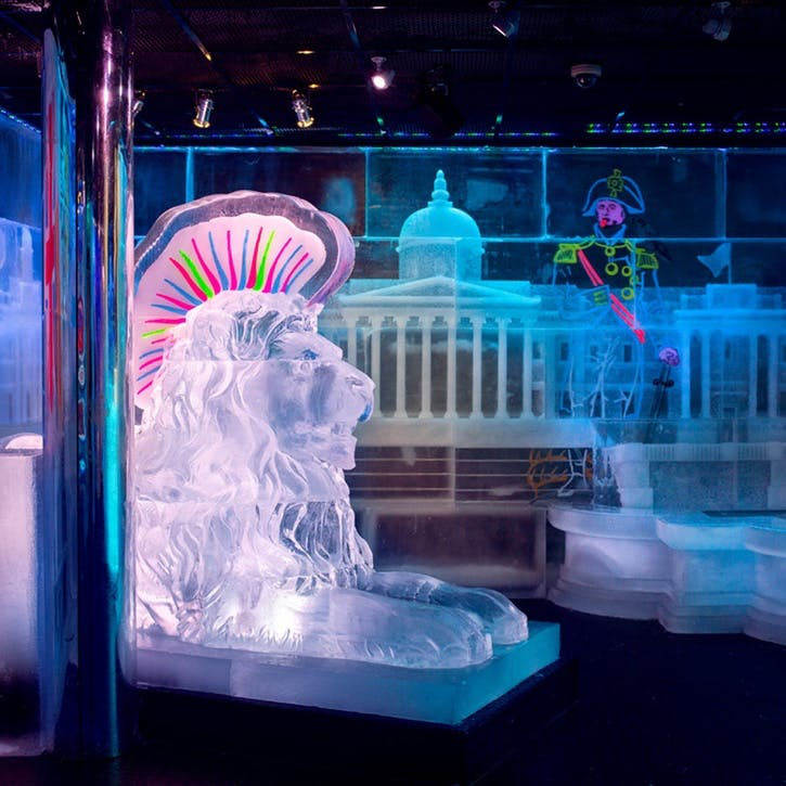 Ice Bar Experience with Champagne Cocktails for Two