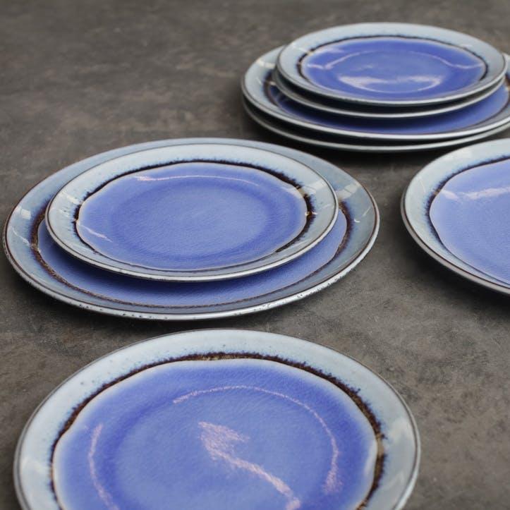 Dakara Ceramic Side Plate; Light Blue