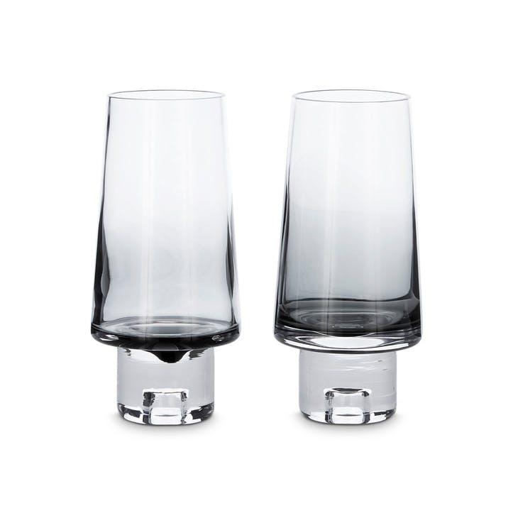 Tank High Ball Glasses, Set of 2, Black