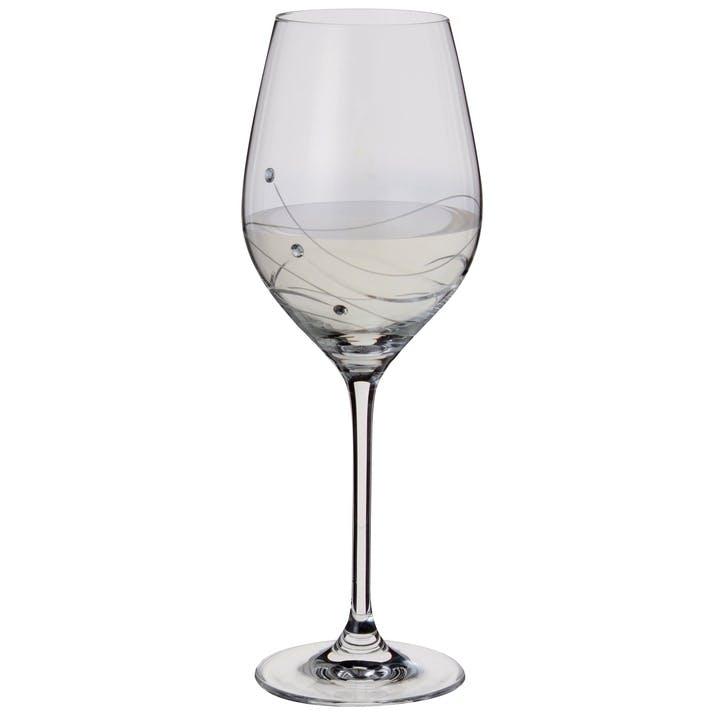 Glitz Wine Glasses, Pair