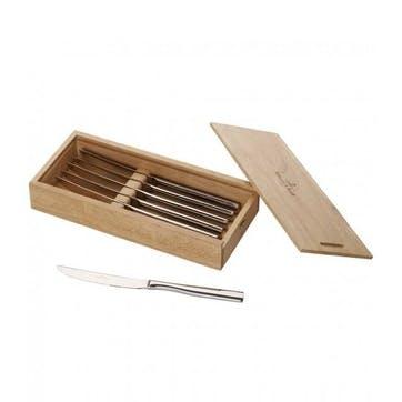 Piemont Steak Knife Set 6 pcs