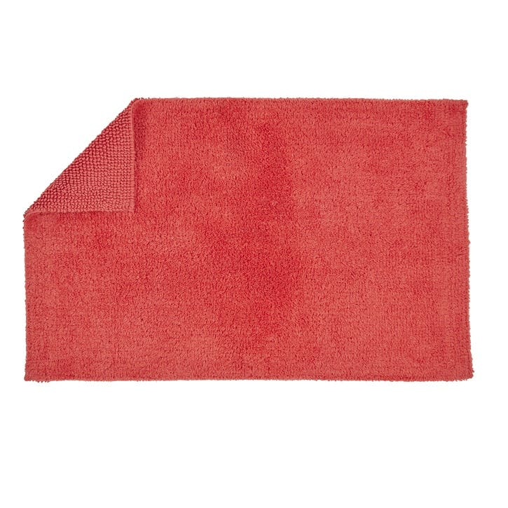 Reversible Bath Mat, Coral