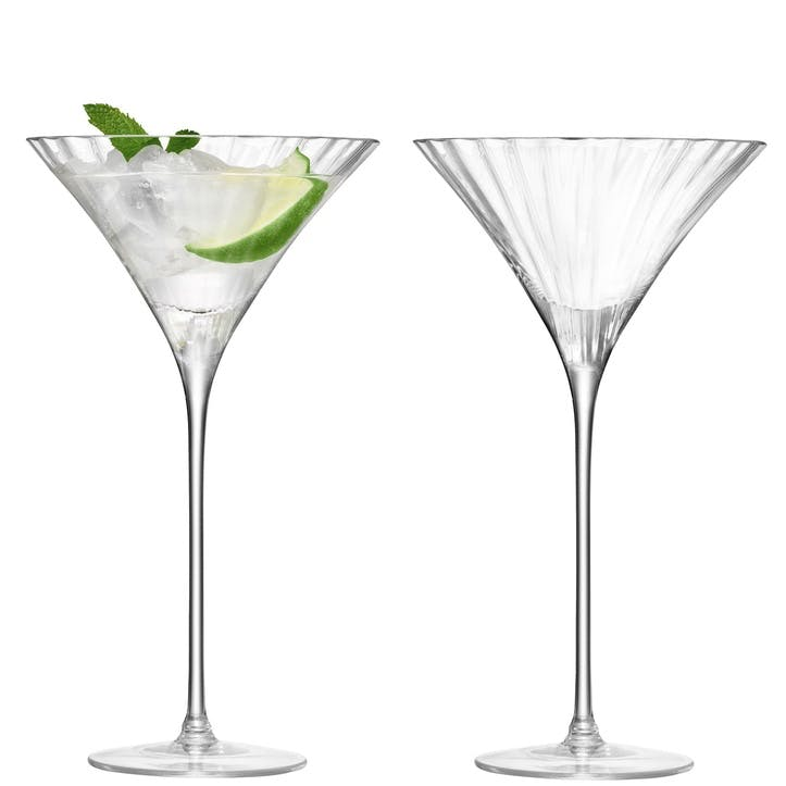 LSA Aurelia Cocktail Glass, 275ml, Set of 2