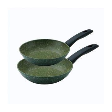 Eco Non-Stick Frying Pan, Set of 2