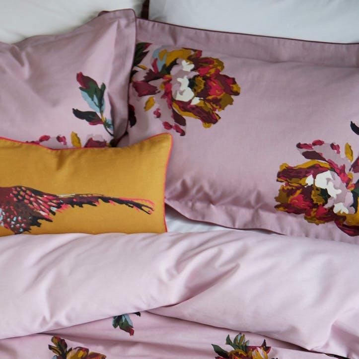 Heritage Peony Oxford Pillowcase, Fragrant Lilac