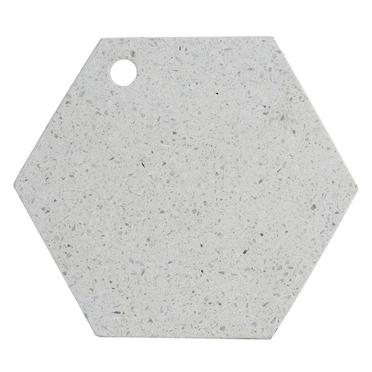 Elements Terrazzo Hexagon Serving Board