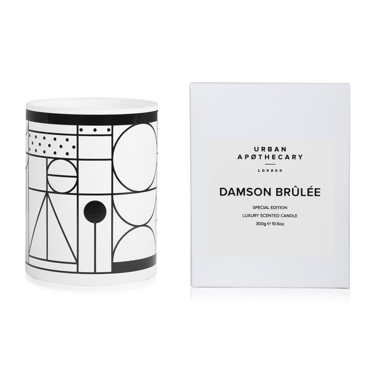 Damson Brûlée Luxury Candle, 300g