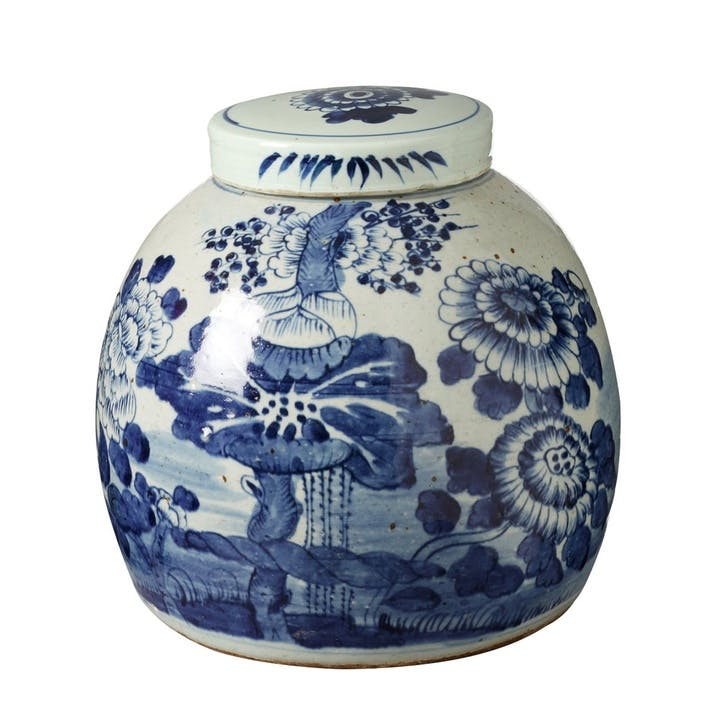 Zetian Lidded Jar