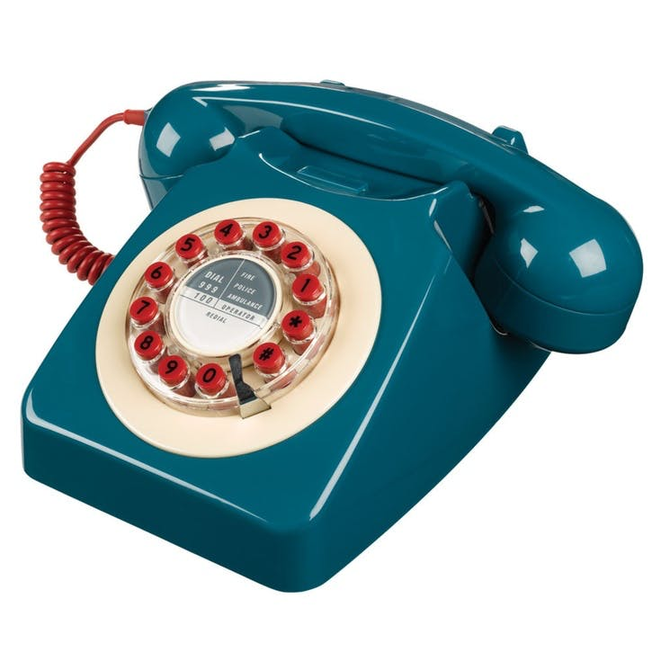 Series 746 Phone, Petrol Blue