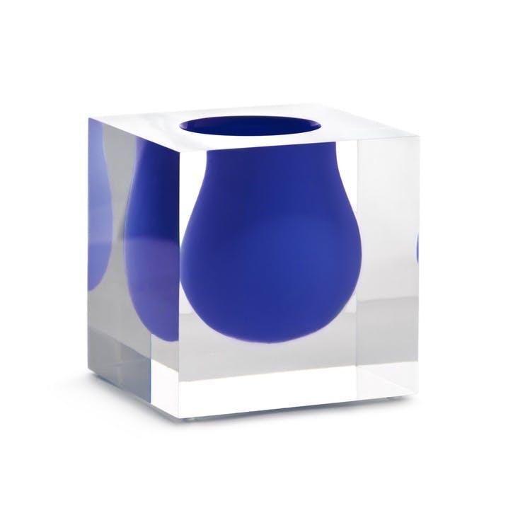 Bel Air Mini Scoop Vase, Colbalt