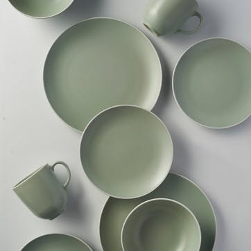 Classic Collection 12 Piece Dinner Set, Green