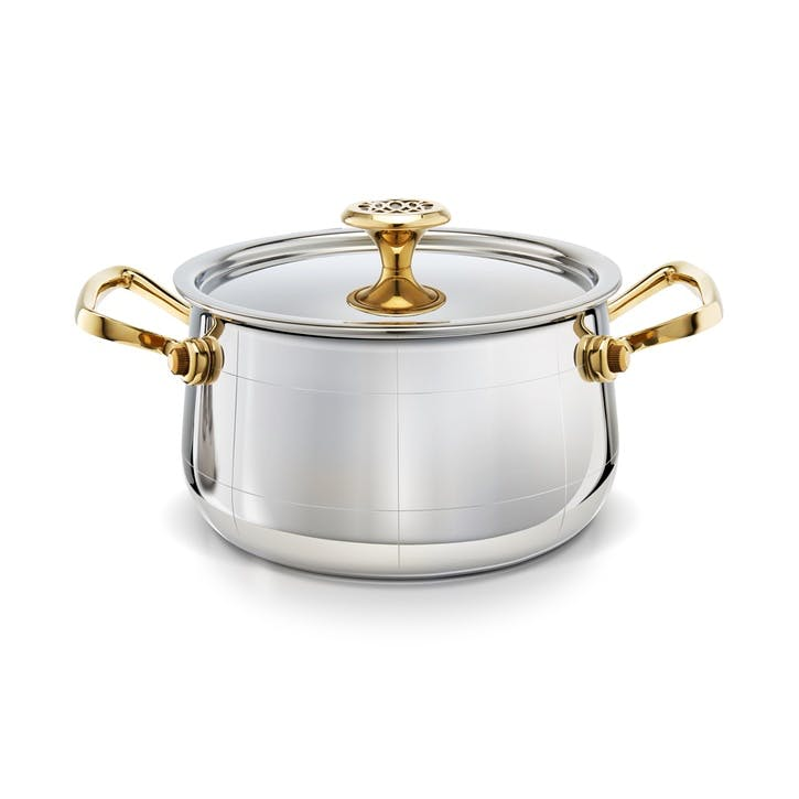 Platine Saucepan With Lid, Medium