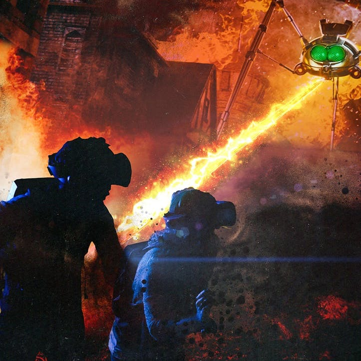 Jeff Wayne's The War of The Worlds: The Immersive Experience with Meal and Champagne for Two