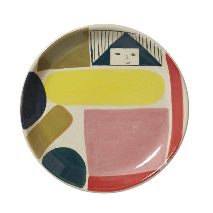 Prism Side Plate, 19cm, Multi