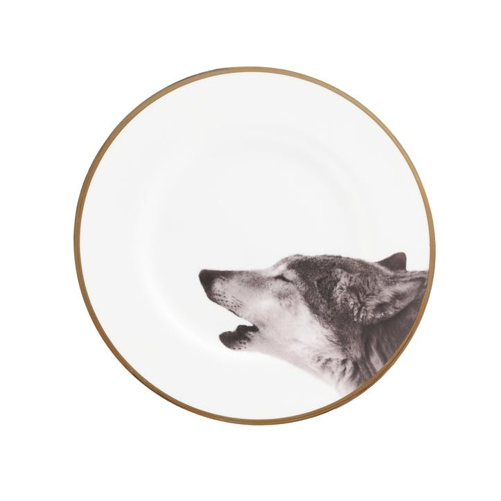 Urban Nature Howling Wolf Side Plate