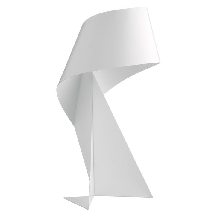 Ribbon Mini Table Lamp, White