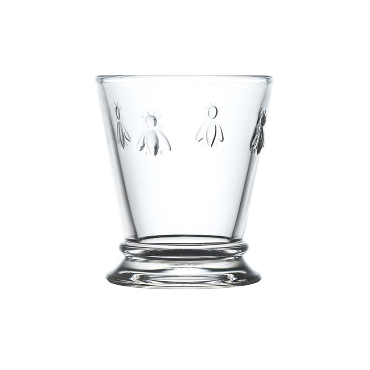 Bee, Goblets, Set of 6, 270ml, Clear