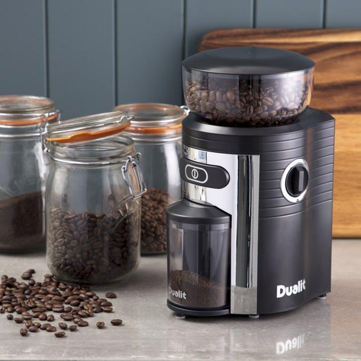 Burr Coffee Grinder; Black