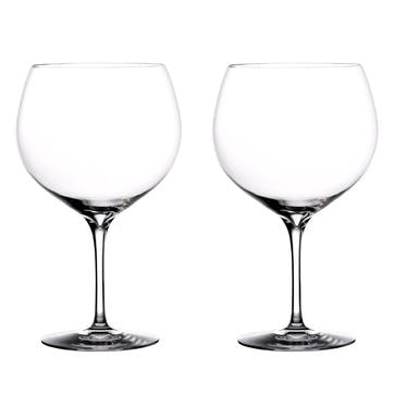 Elegance Gin Balloon Glass, Set of 2