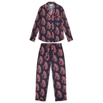 Tiger Long Pyjama Set, Medium