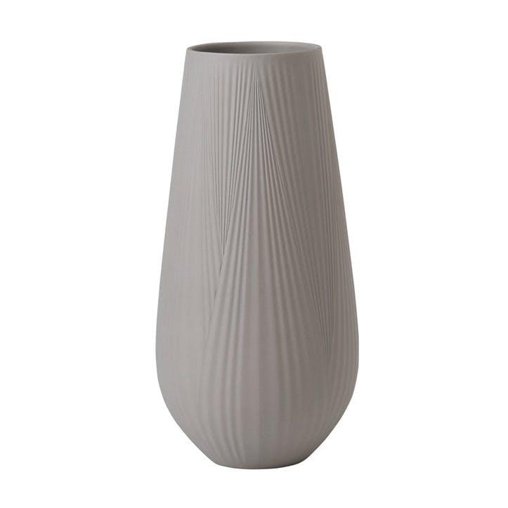 Folia Tall Vase Mink