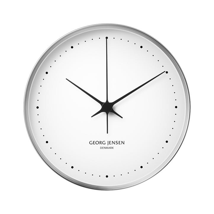 Koppel Wall Clock, Stainless Steel, 30cm