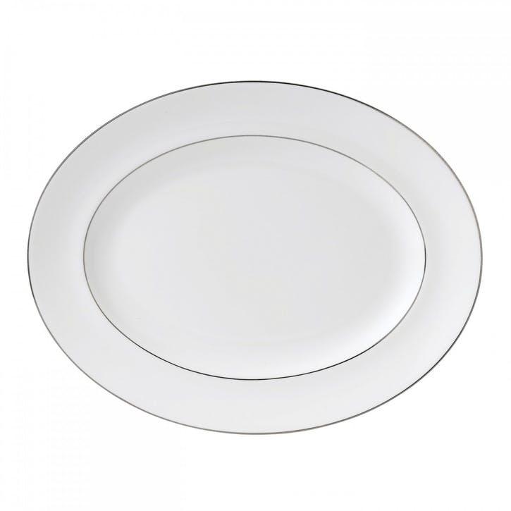 Signet Platinum Oval Dish